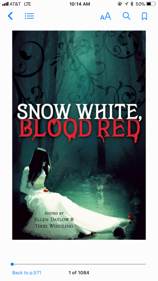 SnowWhite, Blood Red Short Stories